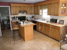 Best Kitchen Colors With Oak Cabinets Kitchen Kitchen Color Ideas With Oak Cabinets Food Storage