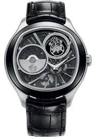 piaget tourbillon piaget black tie emperador cushion shaped tourbillon 46 5 mm