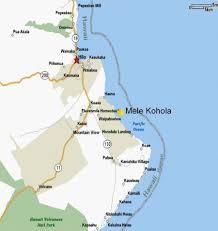 Map Of Hawaii Big Island Map To Mele Kohola The Singing Whale