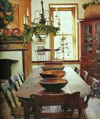 Primitive Kitchen Furniture Decorating In The Primitive Colonial Style Early American