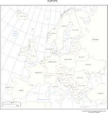 Map Of Europe Black And White by Europe Maps And Labeled Map Of European Countries Evenakliyat Biz