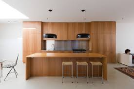 Veneer Kitchen Cabinets by Kitchen Open Plan Kitchen With Wooden Veneered Kitchen Cabinet And