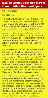 annoyed marine writes a heartfelt letter to president obama