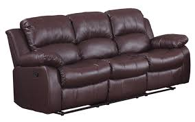 How To Disassemble Recliner Sofa by Amazon Com Homelegance Double Reclining Sofa Brown Bonded