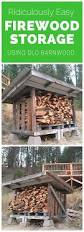 Diy Wood Storage Shed Plans by 146 Best Fire Wood Storage Images On Pinterest Firewood Storage