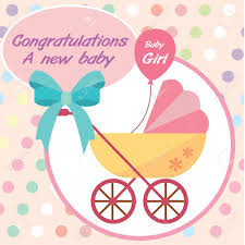 card new born baby royalty free cliparts vectors and stock