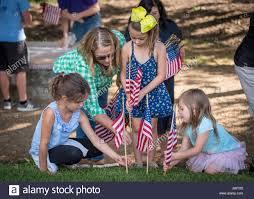 Clemson Flags Volunteers Help Place 491 American Flags On Clemson University U0027s