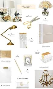 office table decoration items gold white lovely office accents work space pinterest