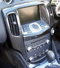 Nissan 370z Interior Central 20 Interior Trim Radio Surround Carbon Nissan 370z 09 14