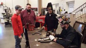 kingsport times news tcat millwright students including one from