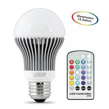 color changing light bulb with remote electric led bulb a19 remote control color changing white