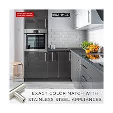 modern stainless steel kitchen cabinet pulls brahmco 320 5 3 center modern style stainless