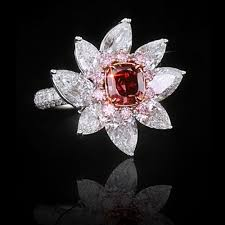 diamond red rings images Natural fancy pink diamonds yellow diamonds colored diamond and jpg