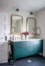 Colorful Bathroom Vanities Remodelaholic Best Colors For Your Home Navy Blue For Navy Blue