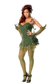 ladies poison ivy costume superhero batman halloween fancy