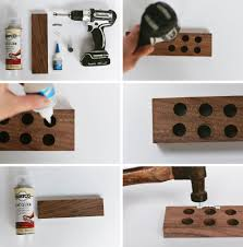 Magnetic Strips For Kitchen Knives Magnetic Knife Block Made Of Nobelwood Homemade Wooden