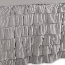 light grey bed skirt solid jersey knit bed twin twin xl bed skirt in light grey bed