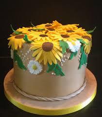 stylish sunflower cake design birthday cakes gallery