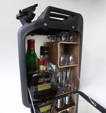 Unique Bar Cabinets World War Ii Jerry Cans Transformed Into Bar Cabinets
