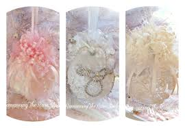 shabby chic christmas ornaments learntoride co