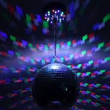 led disco ball light portable led disco mirrorball pendant