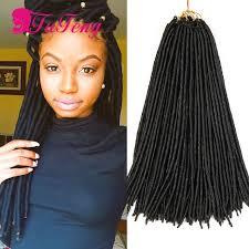 best hair for faux locs faux locs crochet hair dreadlock extensions 18 inch best quality
