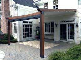 pergola awning white pergola awning on a white house extending