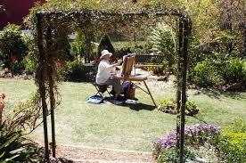 Art In The Garden - leura gardens festival blue mountains spring gardens art in the