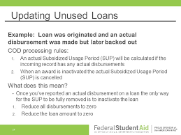 direct loan processing cod work for you ppt