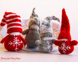 3 gnomes pdf knitting patterns ornament new year