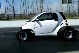 youtube lexus drag big block smart car pulls wheelies sounds like the apocalypse