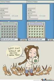 Pokemon Memes En Espa Ol - she really wants a shiny by dragonsblood meme center