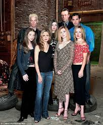 Buffy Costume Halloween Sarah Michelle Gellar Reunites David Boreanaz Buffy