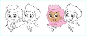 bubble guppies coloring pages 436160 coloring pages free 2015