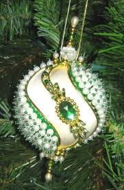 473 best bead sequin ornaments images on sequin