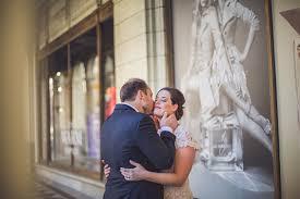 wedding arches calgary susan stu downtown calgary elopement
