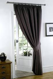 Chocolate Curtains Eyelet Blackout Door Curtains Sliding Door Curtains For The Home Sliding