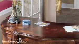 Furniture Secretary Desk by Exton Square Half Round Secretary Desk By Ashley Furniture Youtube