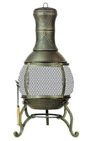 ebay patio heater chiminea fire pit cast iron fireplace patio outdoor space heater