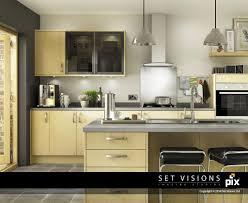 kitchen set modern modern maple cgi kitchen room set by set visions 3d artist