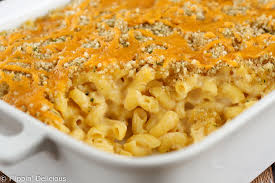 baked gluten free mac and cheese