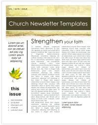 fall leaves church newsletter template template newsletter templates