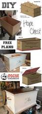 free and easy hope chest plans hope chest rogues and wood projects