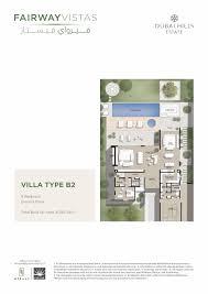 6 Bedroom Floor Plans Fairway Vistas At Dubai Hills Estate Emaar