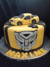 transformer cake bumblebee transformer cake cakecentral