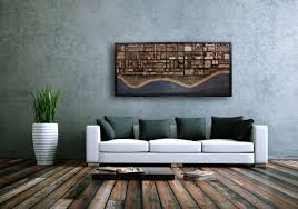 wall decor made of wood made reclaimed wood wall by carpentercraig custommade