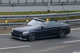 convertible mercedes 2017 mercedes benz c class cabrio goes top down in the winter