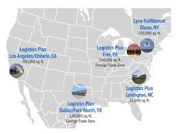 Erie Pa Map North American Warehousing Solutions