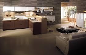 cuisine ouverte sur sejour salon décoration séjour salon cuisine américaine argileo