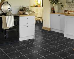 fabulous vinyl flooring slate tile effect karndean t88 onyx